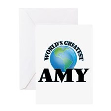 World's Greatest Amy Greeting Cards
