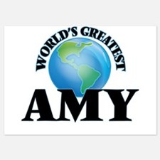 World's Greatest Amy Invitations