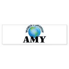 World's Greatest Amy Bumper Bumper Sticker