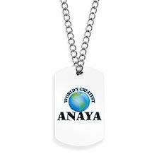 World's Greatest Anaya Dog Tags