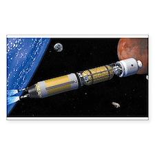 bimordal rocket Decal