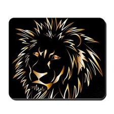 Golden lion Mousepad