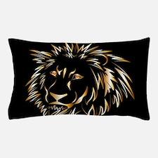 Golden lion Pillow Case