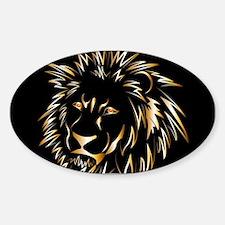Golden lion Decal