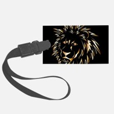 Golden lion Luggage Tag