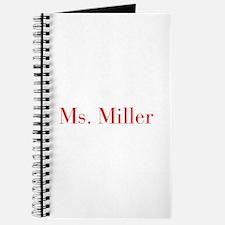 Ms Miller-bod red Journal