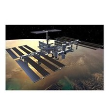 iss Postcards (Package of 8)