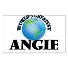 World's Greatest Angie Decal