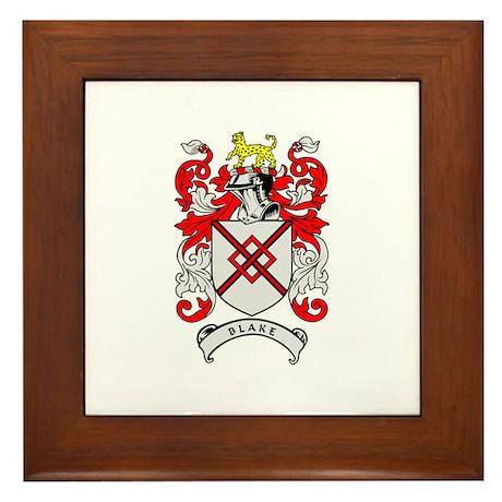 BLAKE 2 Coat of Arms Framed Tile