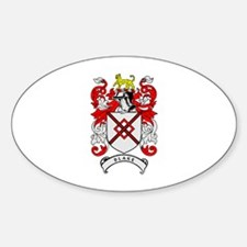 BLAKE 2 Coat of Arms Oval Decal