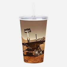 mars rover Acrylic Double-wall Tumbler