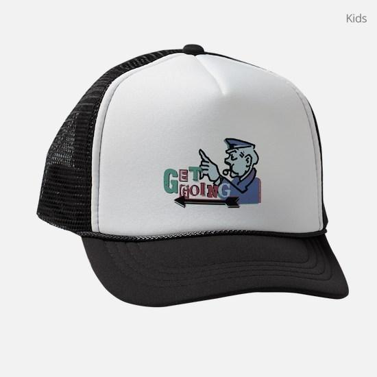Monopoly Get Going Kids Trucker hat