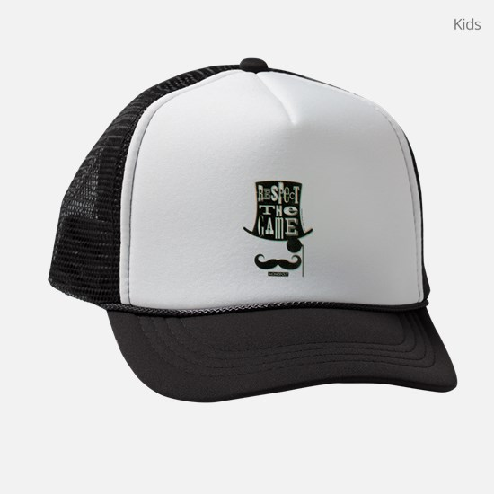 Monopoly Respect The Game Kids Trucker hat