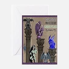 Gargoyles Card Greeting Cards