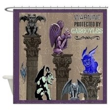 Gargoyles Shower Curtain