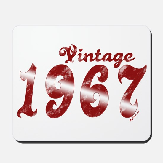 Vintage 1967 Mousepad