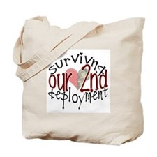 2nd deployment Tote Bag