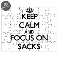 Keep Calm and focus on Sacks Puzzle