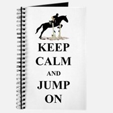 Keep Calm and Jump On Horse Journal