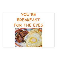 breakfast lover Postcards (Package of 8)