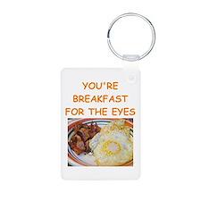 breakfast lover Keychains