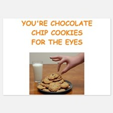 chocolate chip cookie lover Invitations