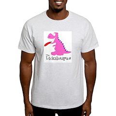 Lickalotapus Ash Grey T-Shirt