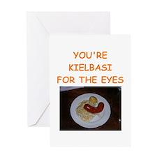 kielbasi Greeting Card