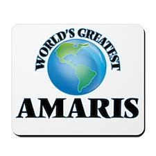 World's Greatest Amaris Mousepad