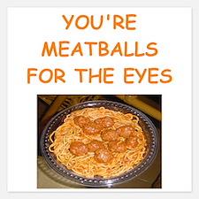meatballs Invitations