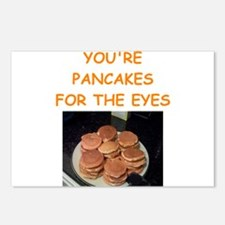 pancakes Postcards (Package of 8)