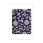 Abstract Whimsical Flowers Poster Print