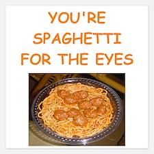spaghetti Invitations