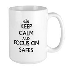 Keep Calm and focus on Safes Mugs