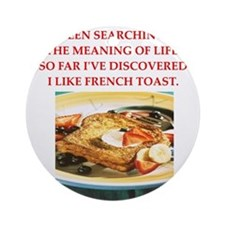 french toast Ornament (Round)