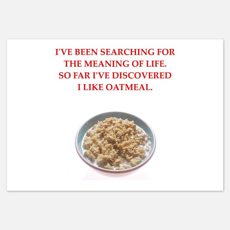 oatmeal Invitations