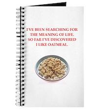 oatmeal Journal
