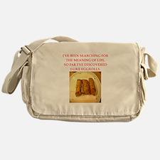 egg roll Messenger Bag