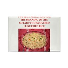 fried rice Rectangle Magnet