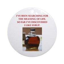 Syrup Ornament (round)