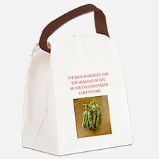 wasabi Canvas Lunch Bag