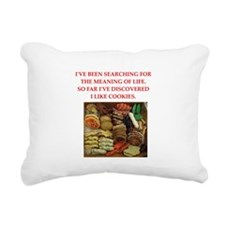 cookie Rectangular Canvas Pillow