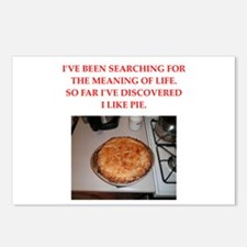 pie Postcards (Package of 8)