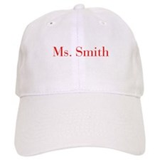 Ms Smith-bod red Baseball Baseball Cap