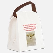 martini Canvas Lunch Bag