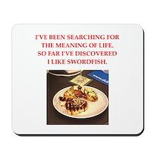 swordfish Mousepad