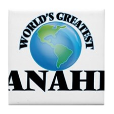 World's Greatest Anahi Tile Coaster