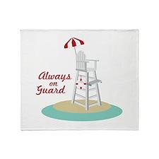 Always on Guard Throw Blanket