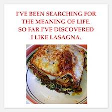 lasagna Invitations