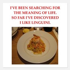 linguini Invitations